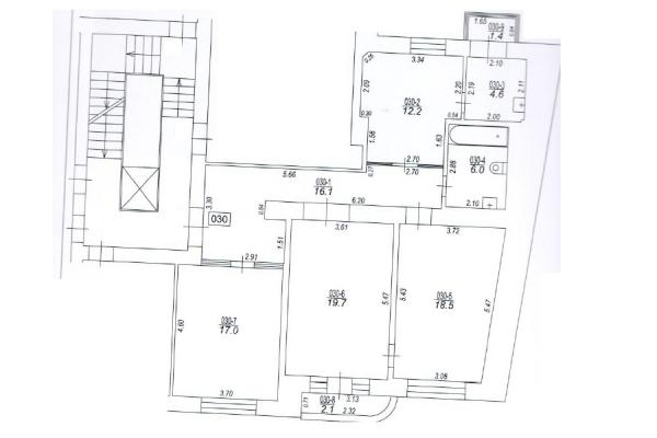 Pārdod dzīvokli, Skolas iela 30 - Attēls 14