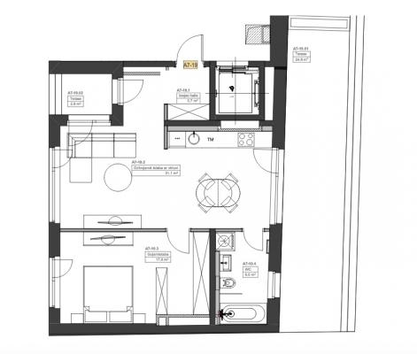 Izīrē dzīvokli, Cēsu iela 9 - Attēls 9