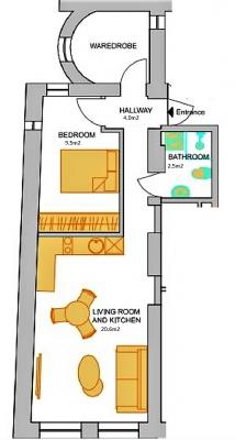 Pārdod dzīvokli, Barona iela 39 - Attēls 6