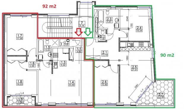 Izīrē dzīvokli, Brīvības iela 293A - Attēls 17