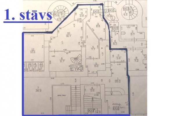 Iznomā tirdzniecības telpas, Blaumaņa iela - Attēls 22