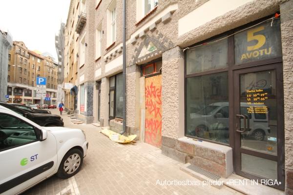 Pārdod tirdzniecības telpas, Avotu iela - Attēls 3