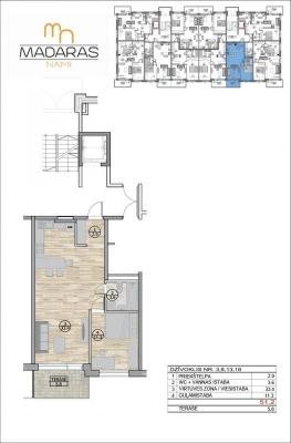 Pārdod dzīvokli, Saules iela 11A - Attēls 11
