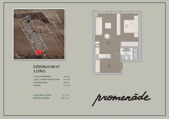 Продают квартиру, улица Mūkusalas 25 - Изображение 10
