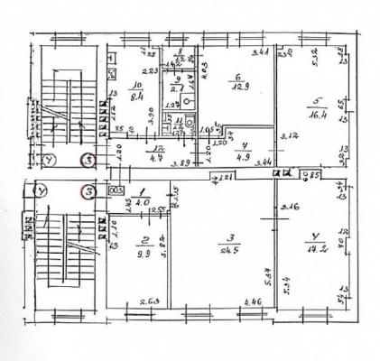 Izīrē dzīvokli, Birznieka Upīša iela 20b - Attēls 17
