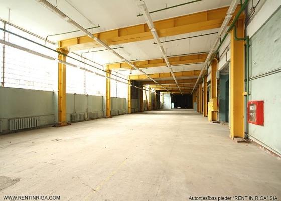 Iznomā ražošanas telpas, Ganību Dambis iela - Attēls 1