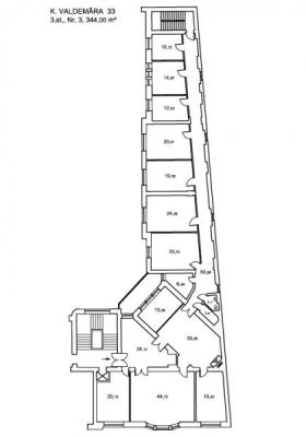 Iznomā biroju, Valdemāra iela - Attēls 14