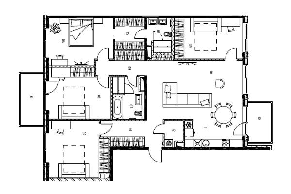 Pārdod dzīvokli, Jāņa Dikmaņa iela 4 - Attēls 13
