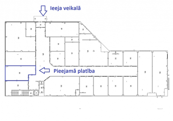 Iznomā tirdzniecības telpas, Dombrovska iela - Attēls 3
