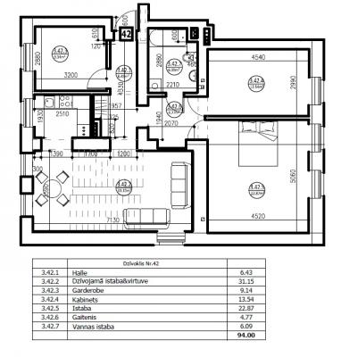 Izīrē dzīvokli, Liepājas iela 34 - Attēls 19