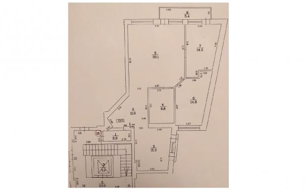 Izīrē dzīvokli, Kalnciema iela 98 - Attēls 21
