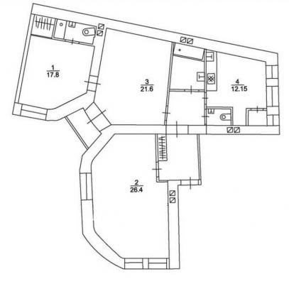 Izīrē dzīvokli, Pulkveža Brieža iela 4 - Attēls 15