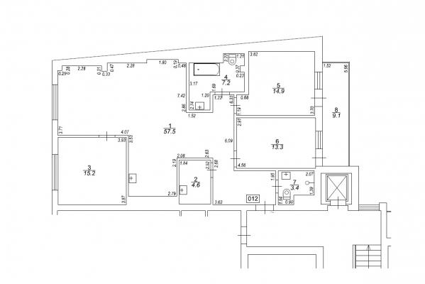Izīrē dzīvokli, Hospitāļu iela 23 - Attēls 18