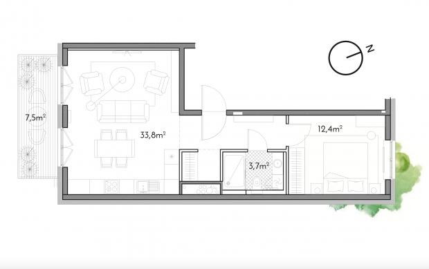 Pārdod dzīvokli, Antonijas iela 17A - Attēls 9