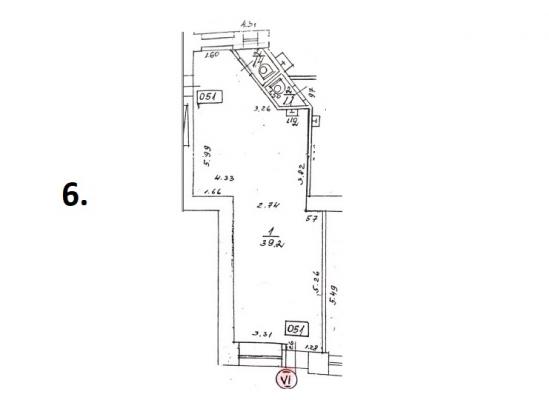 Pārdod tirdzniecības telpas, Avotu iela - Attēls 8