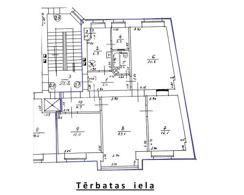 Izīrē dzīvokli, Terbatas iela 55 - Attēls 10