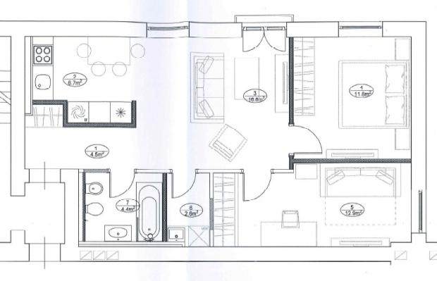 Izīrē dzīvokli, Antonijas iela 11 - Attēls 18