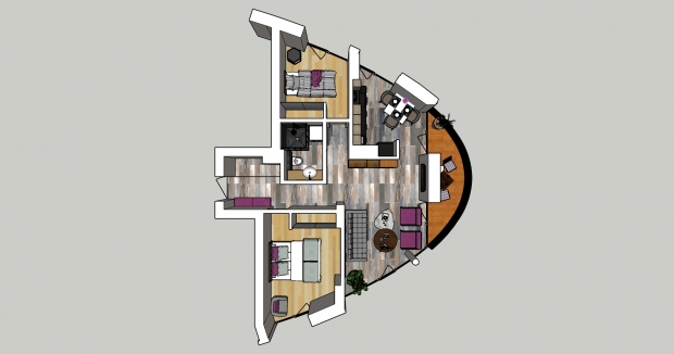 Izīrē dzīvokli, Klijānu iela 16 - Attēls 11