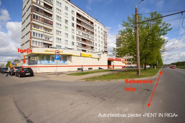 Iznomā tirdzniecības telpas, Saharova iela - Attēls 1