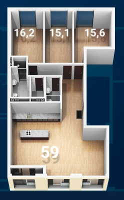 Pārdod dzīvokli, Strēlnieku iela 7 - Attēls 30