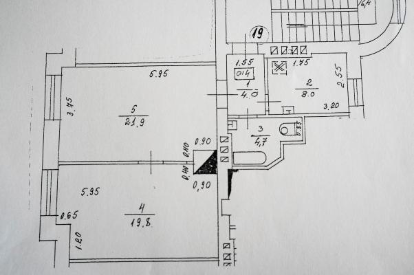 Izīrē dzīvokli, Kalnciema iela 39b - Attēls 13