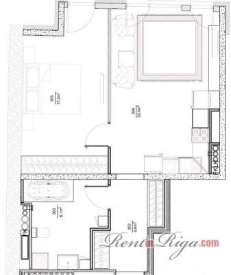 Pārdod dzīvokli, Zaubes iela 9a - Attēls 8
